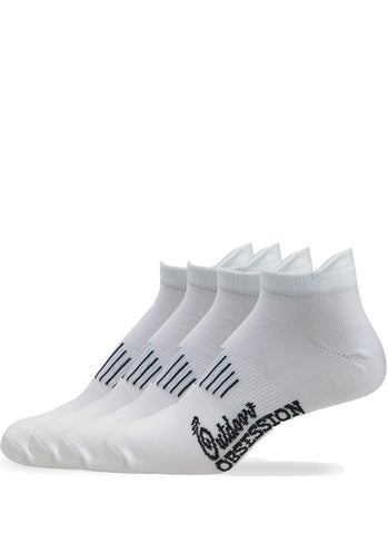 Low Cut Heel Tab Sport Socks Sock - 4 Pair Pack