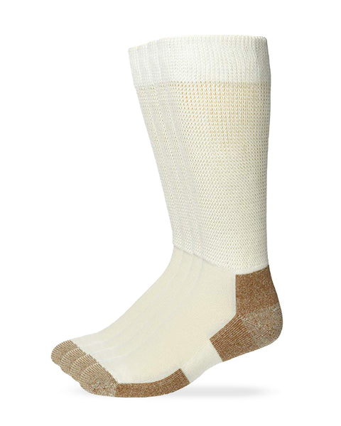 Carolina Ultimate Men's Non-Binding Cupron Copper Socks 2 Pair Pack