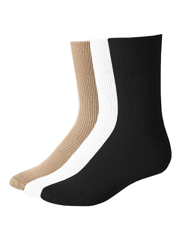 Carolina Ultimate Non-Binding Dress Crew Socks 2 Pair