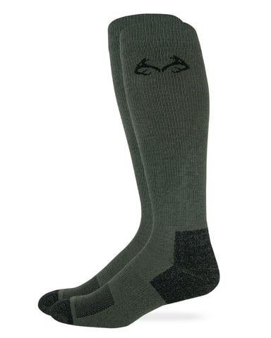 Realtree Men's Insect Shield Over The Calf Socks 1 Pair