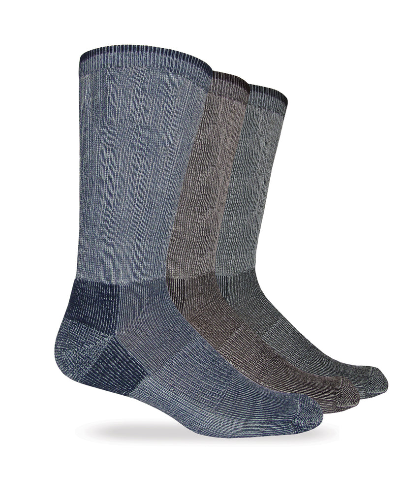 Carolina Ultimate Men's Everyday Merino Wool Blend Crew Socks 1 Pair Pack