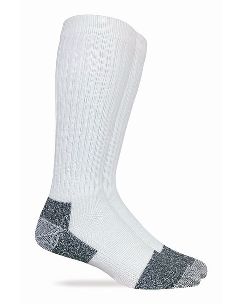 Carolina Ultimate Men's Tall Cotton Work Socks 2 Pair