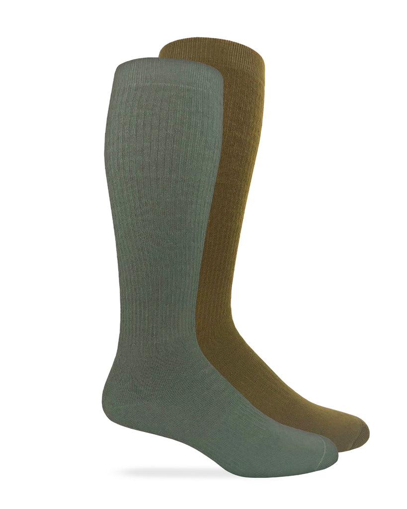 Carolina Ultimate Men's Ultra-Dri Over the Calf Seamless Toe Boot Socks 2 Pair