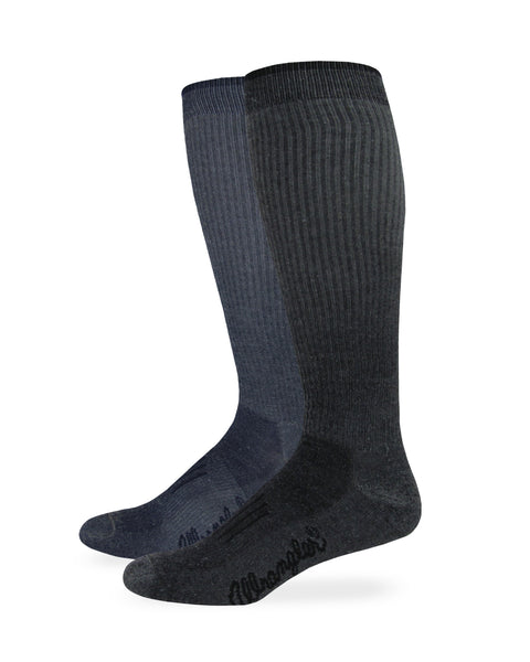 Wrangler Men's Ultra-Dri Over the Calf Boot Socks 1 Pair