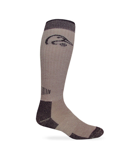 Ducks Unlimited Men's All Season Tall Merino Wool Boot Sock 1 Pair