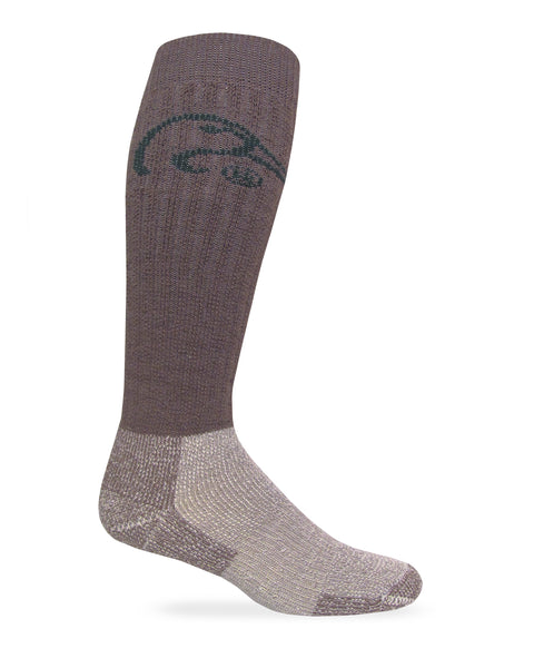 Ducks Unlimited Men's Heavyweight Merino Wool Tall Boot Socks 1 Pair