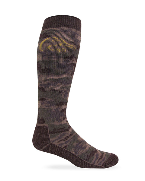 Ducks Unlimited Men's Merino Wool Camo Tall Boot Socks 1 Pair