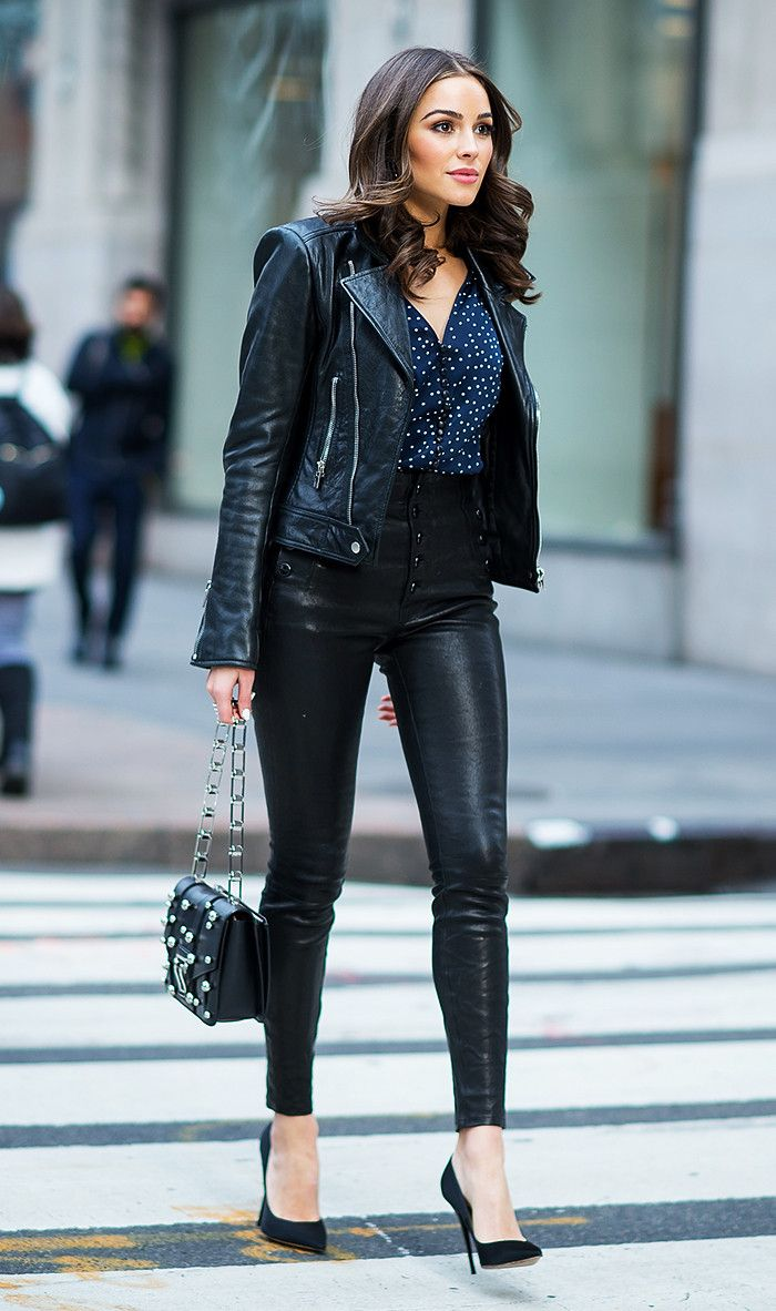 How To Style Leather At The Office