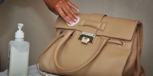 cleaning leather bag 1