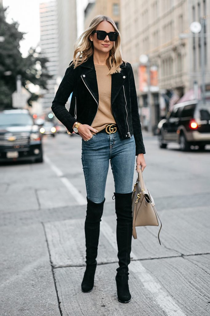 leather jacket woman 3
