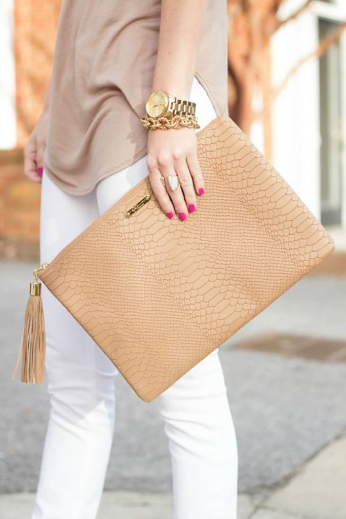 leather clutch 2
