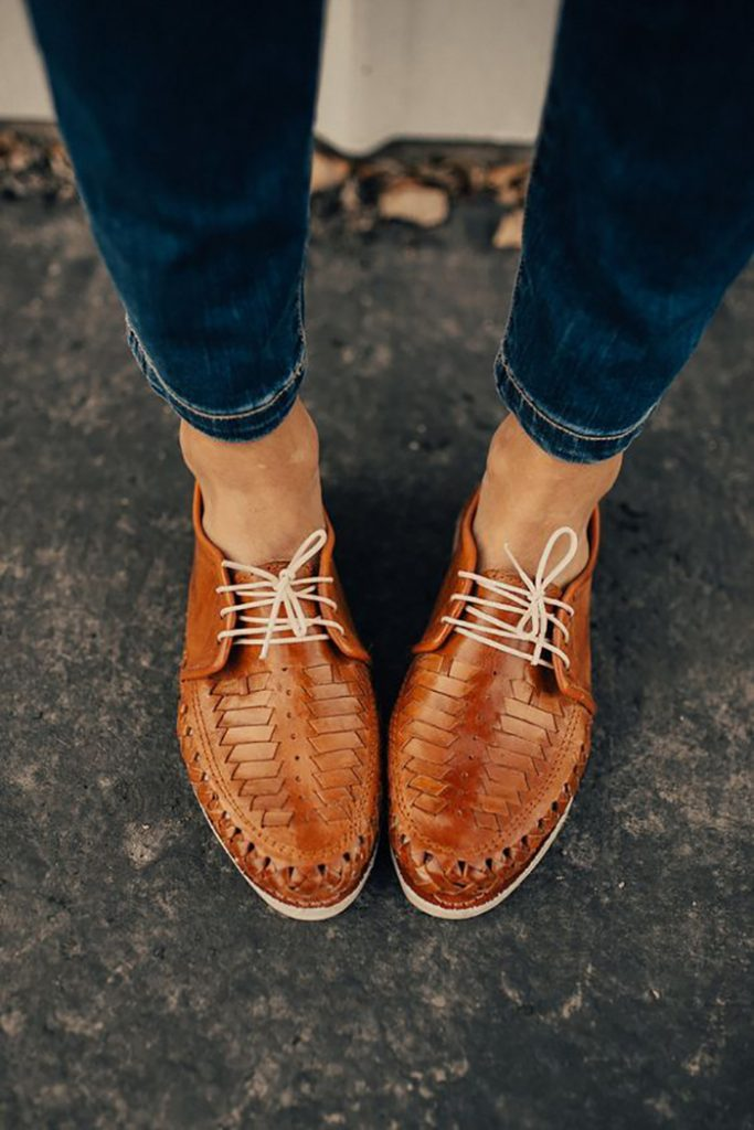 leather shoes for women