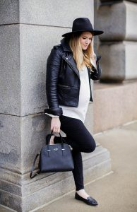 accessories with black jacket