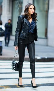 leather jacket and leather pants 5