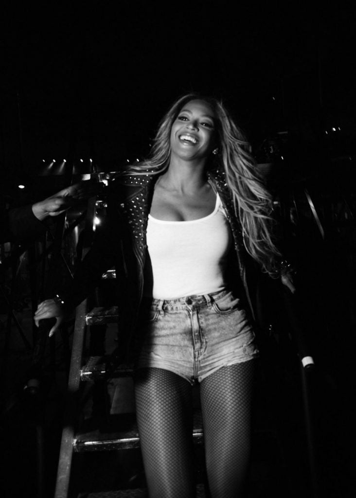 beyonce leather jacket