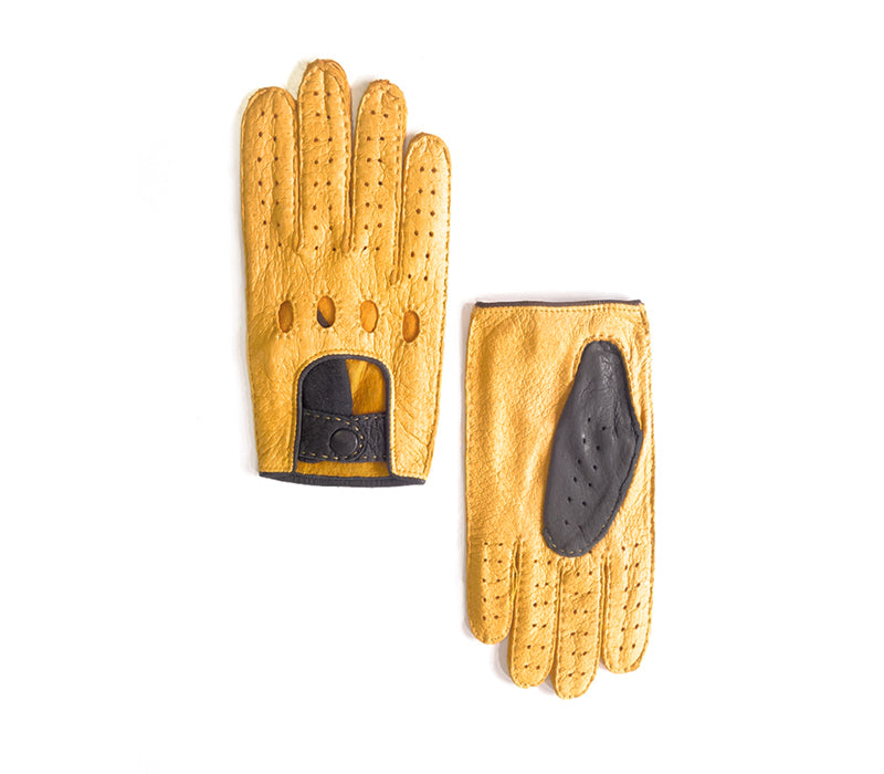 Jaime - Peccary leather gloves - men