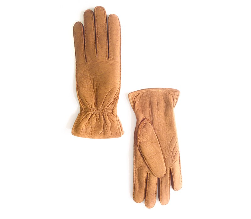 peccary leather gloves cork boris