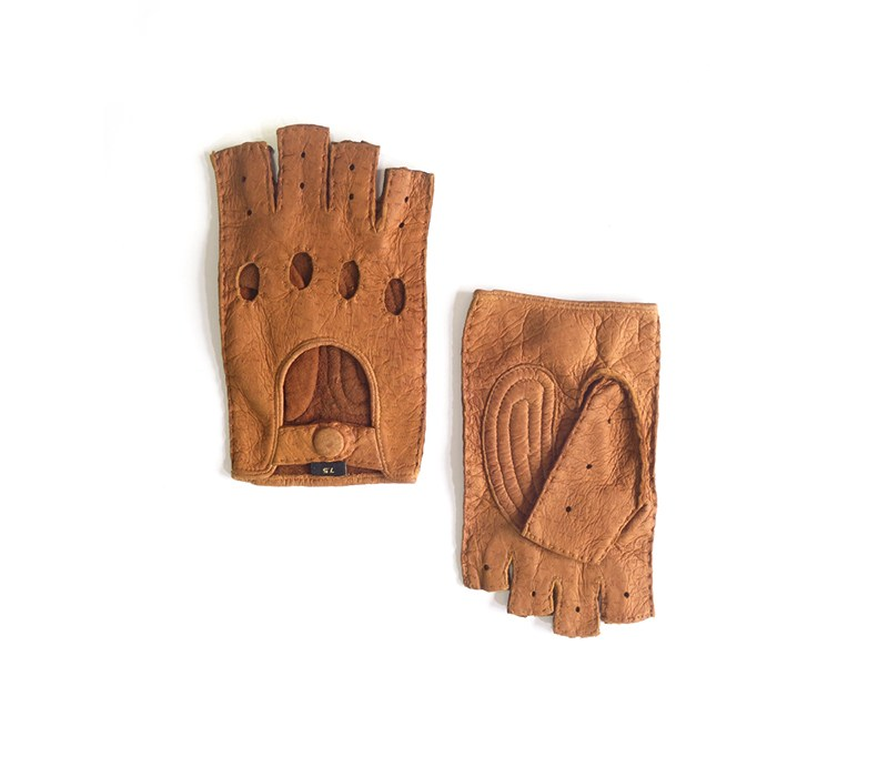 peccary leather gloves panta