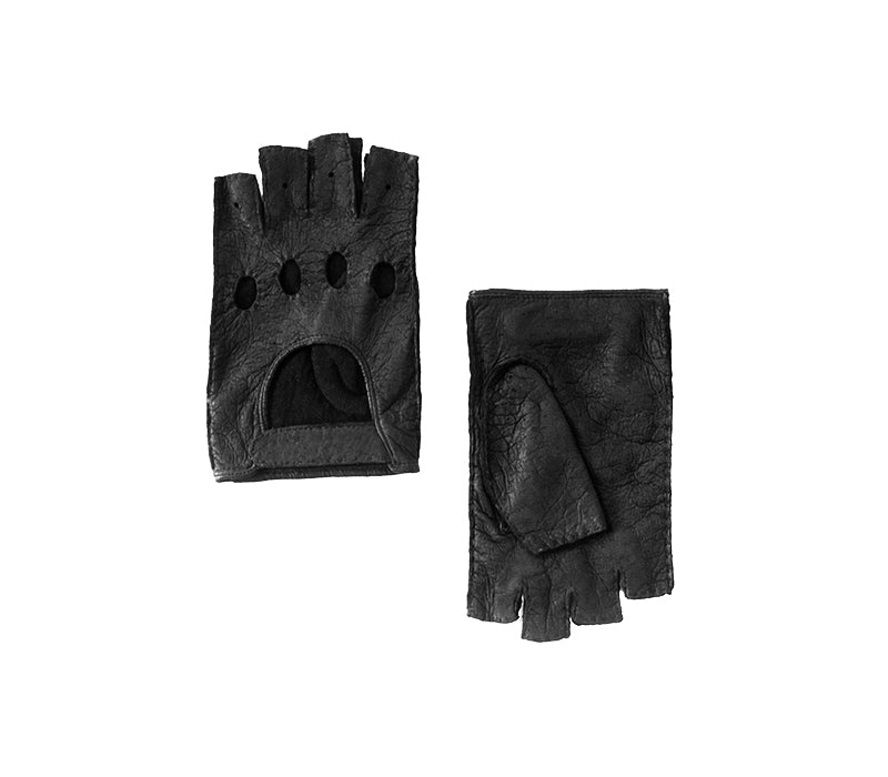 black peccary gloves saltancay