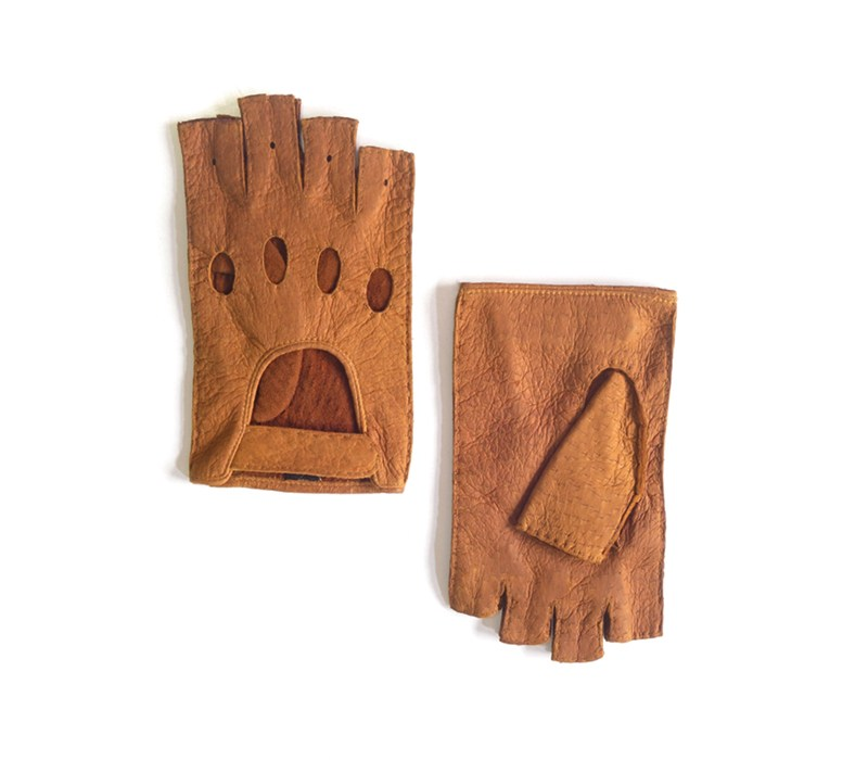 cork peccary gloves saltancay