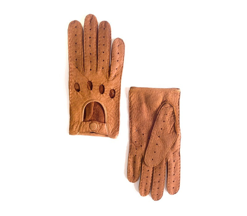 cork peccary leather gloves vilcabamba
