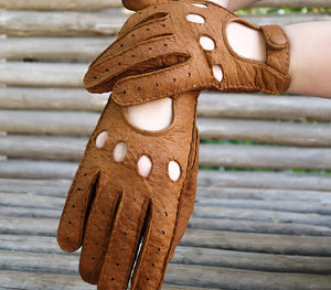 vilcabamba cork peccary gloves