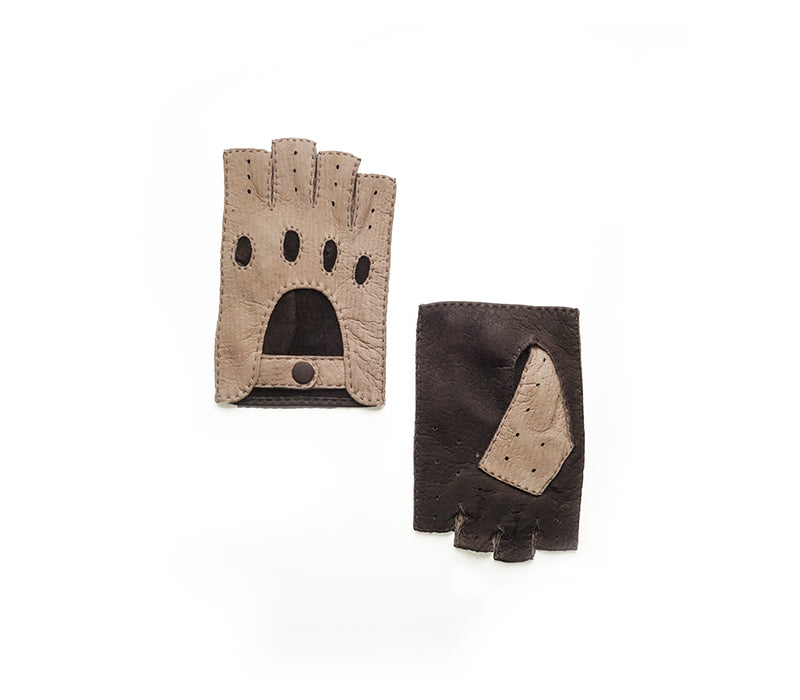 Panta - Peccary leather gloves - men