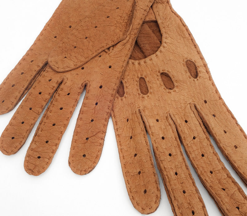 Vilcabamba - Peccary leather gloves - men