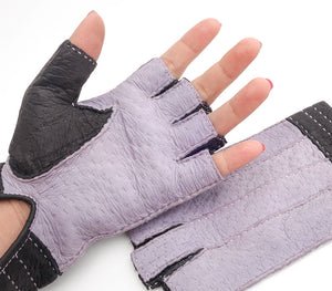 Lydia - Peccary leather gloves - Women