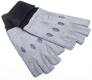 Yoni - Peccary leather gloves - Women