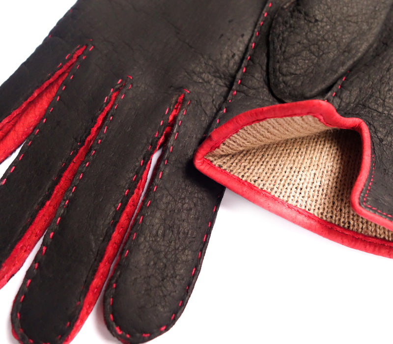 Calypso - Peccary leather gloves