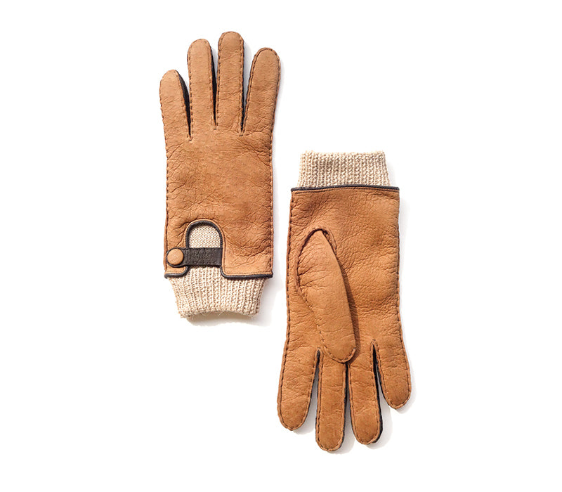 Breeze - Peccary leather gloves - women