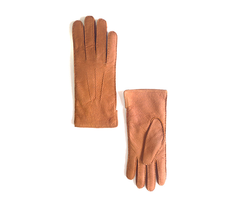 Alpamayo - Peccary leather gloves - men