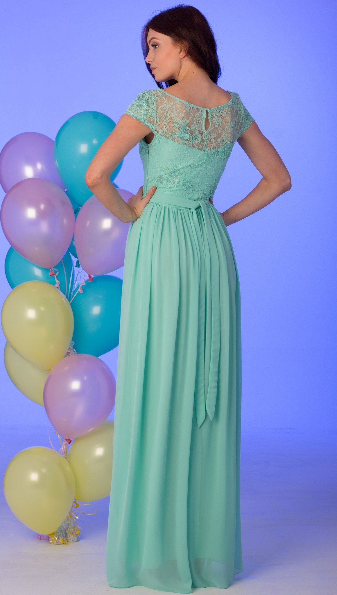Nataliya Lace Prom Dress
