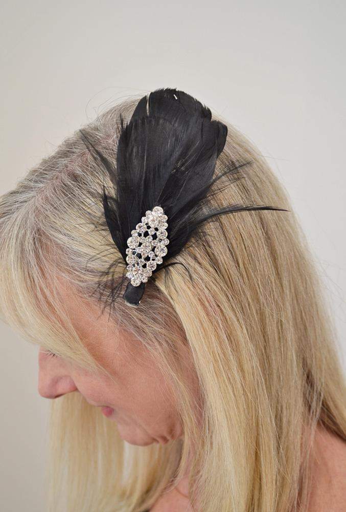 Feather Hair Clip