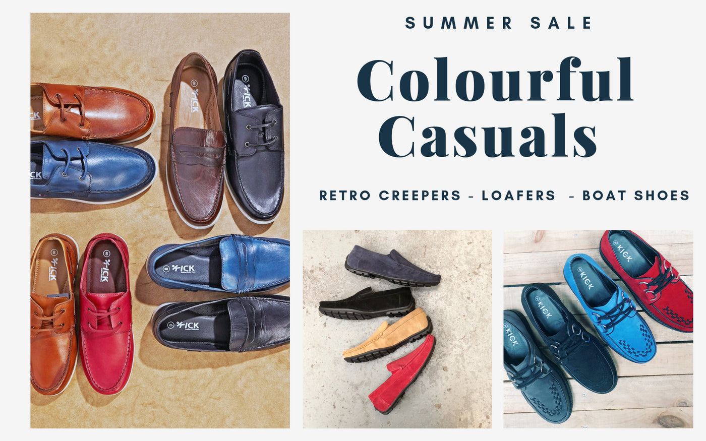 00dbbfdd2994 Men's Leather Suede Casual Summer Shoes Slip on Loafer Boat Shoes Chunky  Retro Teddy Boy Creepers