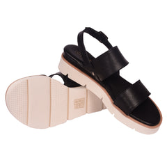 espadrilles ladies black leather