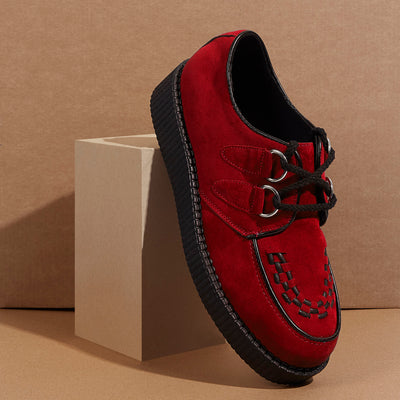Rebel Leather Red Creepers