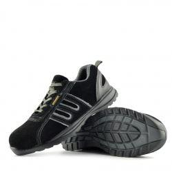 Groundwork Lightweight Steel Toe Safety Trainers - Black