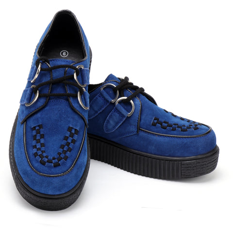 Women's Riot Blue Creepers