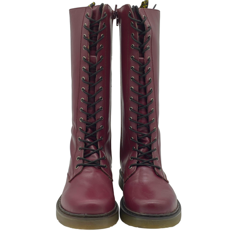 Women's Berry Long Chunky Punk Boots