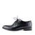 Giatoma Niccoli Leather Oxford Trim Shoes - Black