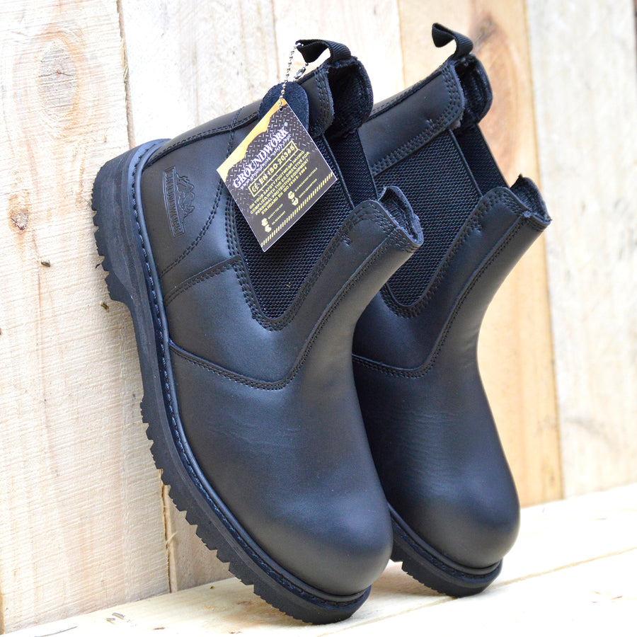 groundwork mens chelsea boots