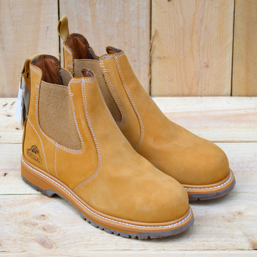 mens safety elasticated boots