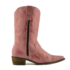ladies pink cowboy boots