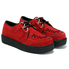Women's Riot Red Creepers