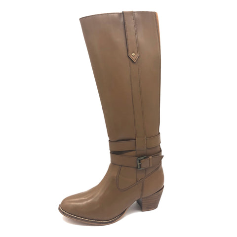 Western Leather Long Tan Boots 19518