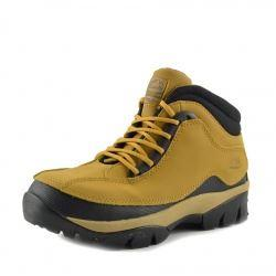 Groundwork Leather Classic Contrast Safety Boots - Honey