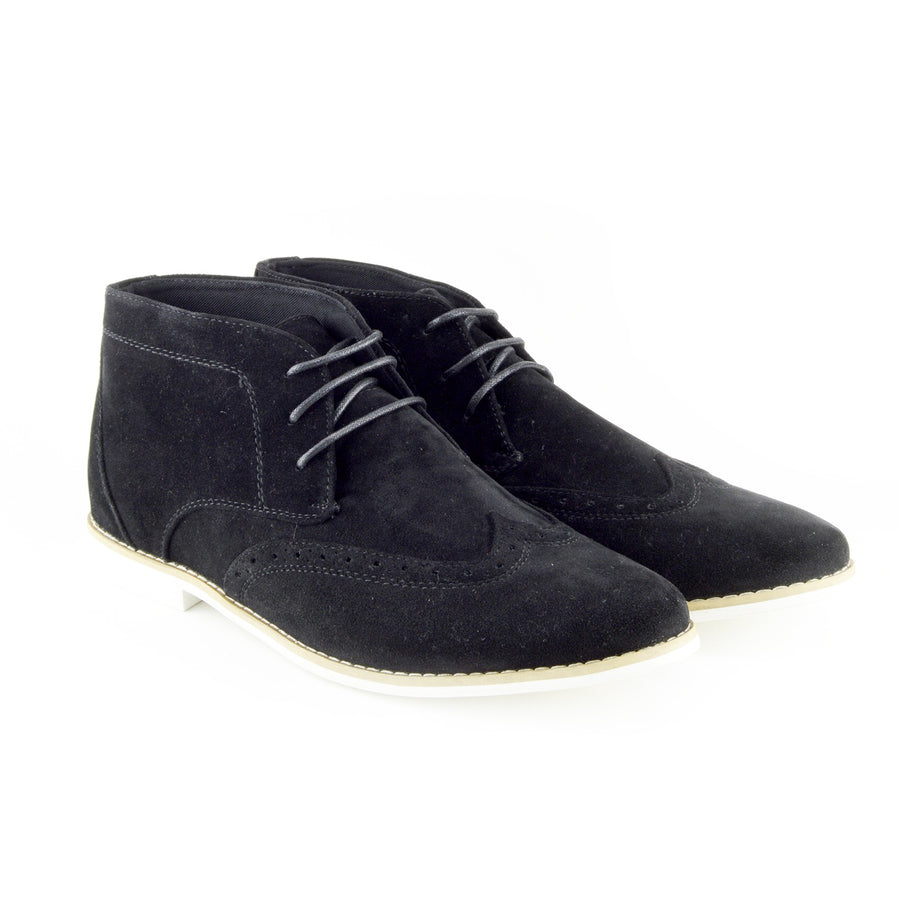 eee0382d3c05b Hatton Suede Desert Lace up Ankle Boots - Black