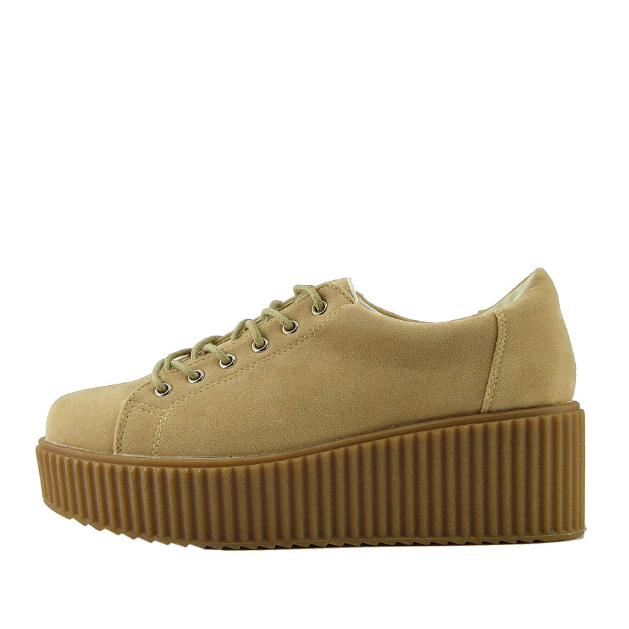 Summer Nude Creeper Trainers - Nude